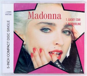 RARE-Madonna-Lucky-Star-5-Inch-CD-Maxi-Single-1989-Borderline-Extended-Track
