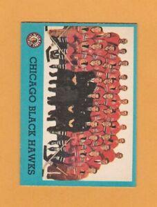 1962-63-NHL-Topps-44-Chicago-Blackhawks-Team-NrMt