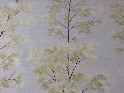 Amazon Rain Forest  Linen//Blue 140cm wide  Cotton Curtain//Craft Fabric