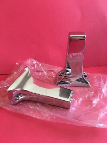 """VINTAGE TOWEL BAR BRACKETS NEW OLD STOCK 5//8/"""" OPENING SQUARE FREE SHIPPING"""