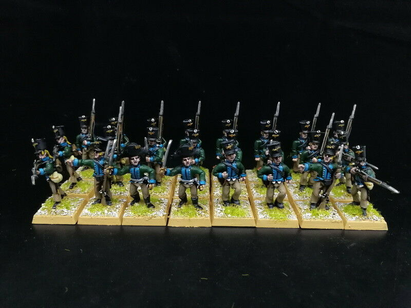 1 56 28mm Napoleonic War DPS painted Early Prussian Fusiliers RC848