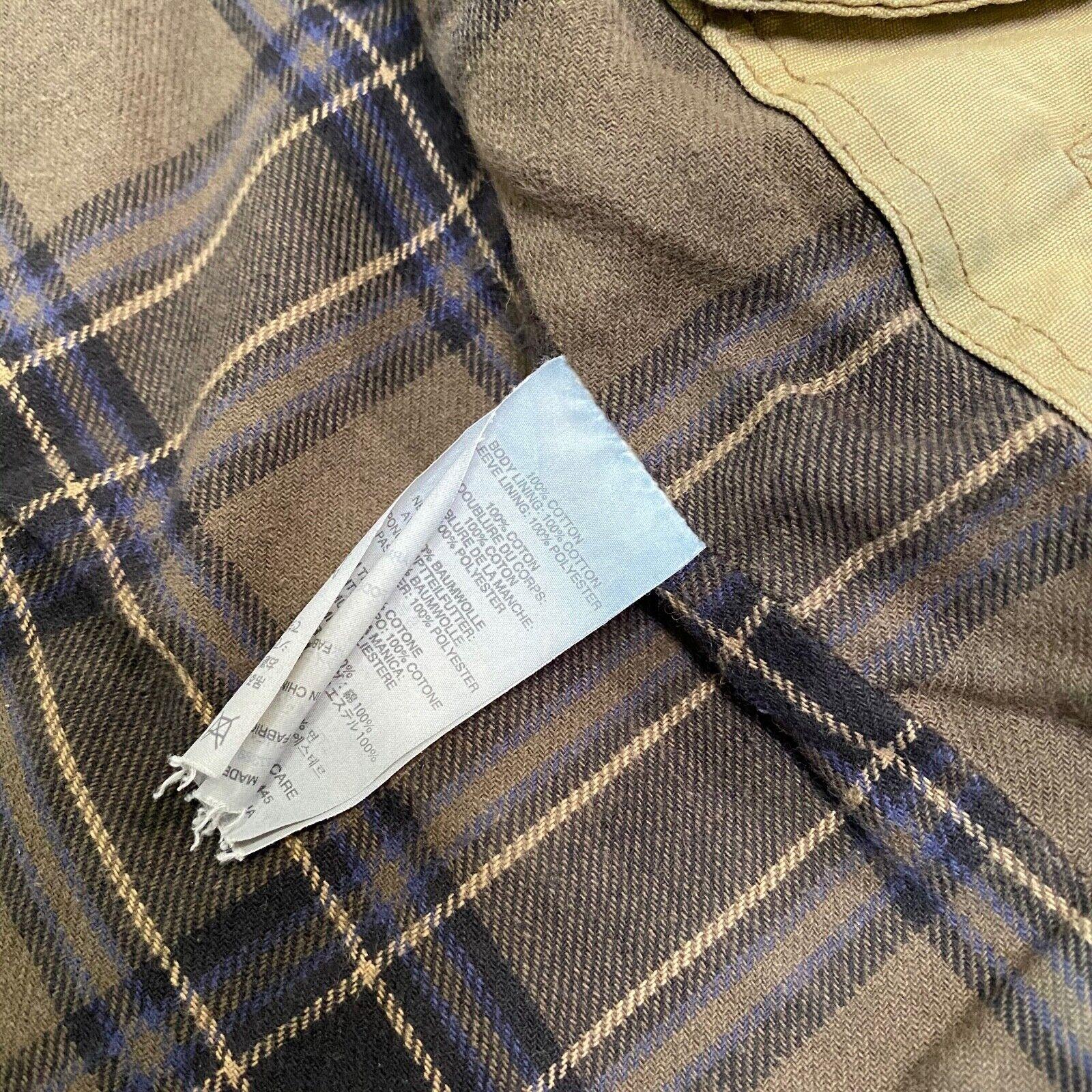 J.Crew Field Jacket Size XS Brown Wax Distressed - image 7