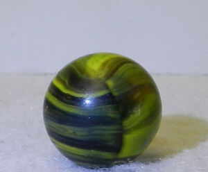 7966m-Vintage-Christensen-Agate-Company-Electric-Striped-Opaque-Marble-60-In