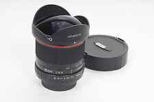 Rokinon Manual Focus 8mm f3.5 Fish-Eye Lens 8/3.5 Nikon AF Mount            #083