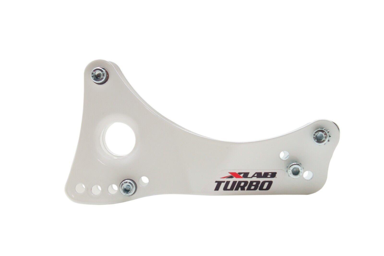 Xlab montaje Turbo Ala trasero de aleación de aluminio botella de agua jaula Montaje blancoo