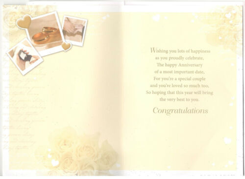 Various Designs To Choose From. Son /& Daughter-in-Law Anniversary Card