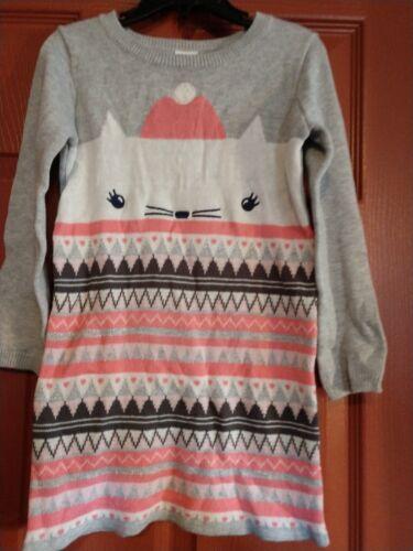 Gymboree girls winter star sweater Dress size 4t NWT