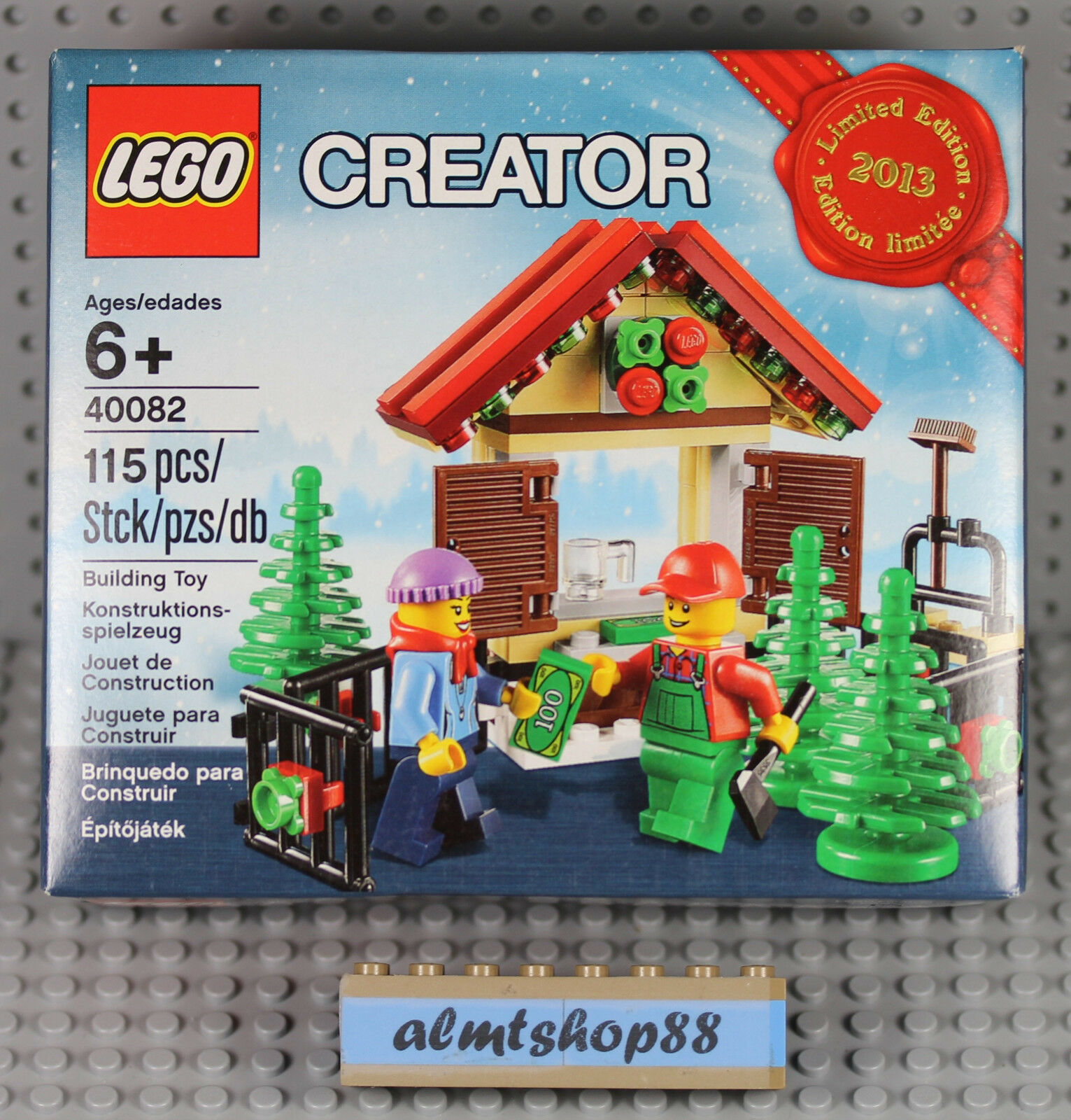LEGO - Christmas Tree Ste  40082 NISB Holiday 2013 LIMITED edizione XMas Gift  negozio online outlet