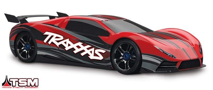 Traxxas XO-1 RC Supercar car 1 7 RTR TQi Link with TSM 160+kmh Brushless motor