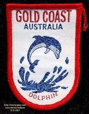LMH PATCH Badge  GOLD COAST Exhibit Aquarium  DOLPHIN  Australia Park Queensland