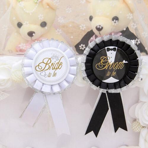 IG/_ KE/_ Bride To Be Rosette Badge For Hen Night Bachelor Bachelorette