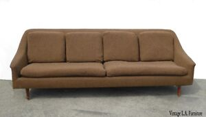 Vintage-Mid-Century-Modern-Brown-Sofa-Couch-Folke-Ohlsson-for-Dux-Style