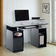 Mesa de Escritorio Ordenador PC para Oficina Despacho Escuela 120x55x85cm