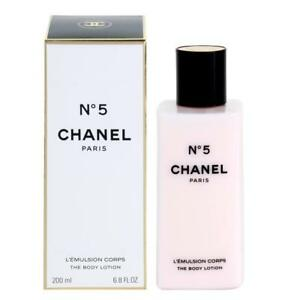 14818c70 Details about CHANEL No 5 Women 6.8oz / 200ml The Body Lotion NEW SEALED BOX
