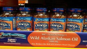 Pure-Alaska-Omega-3-1000-mg-100-Natural-Wild-ALASKAN-SALMON-OIL-180-Softgels