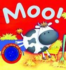 Moo! by Bonnier Books Ltd (Board book, 2010)