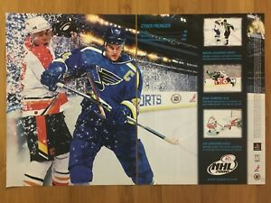 NHL-2000-PS1-Playstation-1-Vintage-Poster-Ad-Art-Print-Official-Promo-Hockey