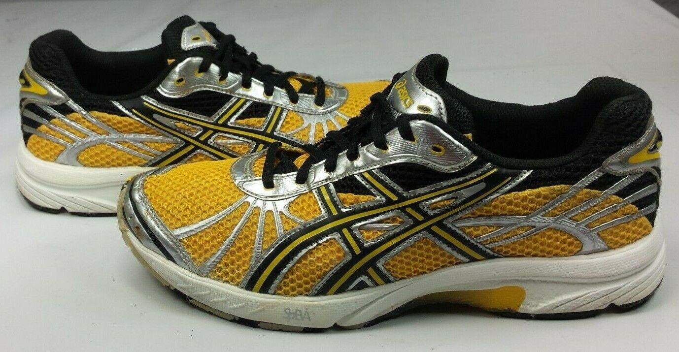 Asics Men's Gel Speedstar 3 Running shoes Yellow Light Weight EUC  Size 9 ½ 43.5