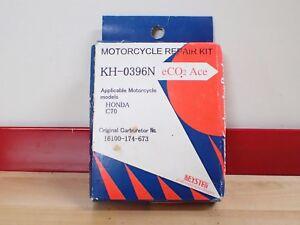 Honda-C70-C-70-carburetor-parts-rebuild-kit-gasket-jet-missing-pieces