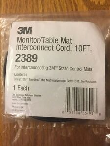 10FT 3M 2389 Monitor//Table Mat Interconnect Cord