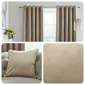 Laurence-Llewelyn-Bowen-MONTROSE-Linen-Blackout-Velvet-Eyelet-Curtains-Cushions