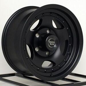 16 Inch Black Wheels Rims Ford F150 E150 Van Dodge Ram Truck Jeep CJ 5x5.5 Lug 4   eBay