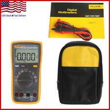 Fluke 15b F15b Auto Range Digital Probe Multimeter Meter Soft Storage Case