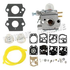 Carburetor-For-Troy-Bilt-TB21EC-TB22EC-TB32EC-TB42BC-TB80EC-amp-Repair-Rebuild-Kit