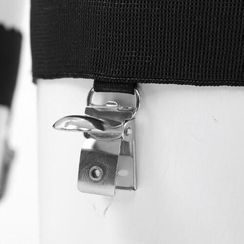 Women Non-slip Elastic Leg Clip Garter Belt Thigh High Stocking Holder Suspender