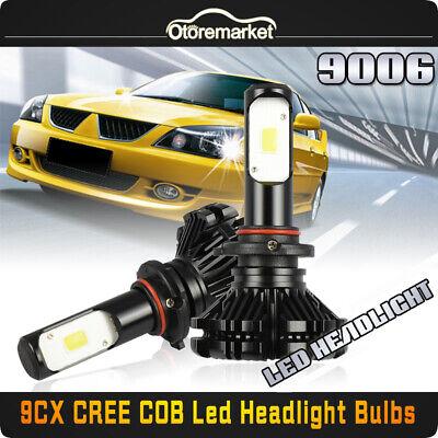 2x 9006 HB4 LED Headlight Kit Bulbs for Honda Civic 2004-13 Toyota Camry 2000-06