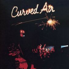 Curved Air - Live [New CD]