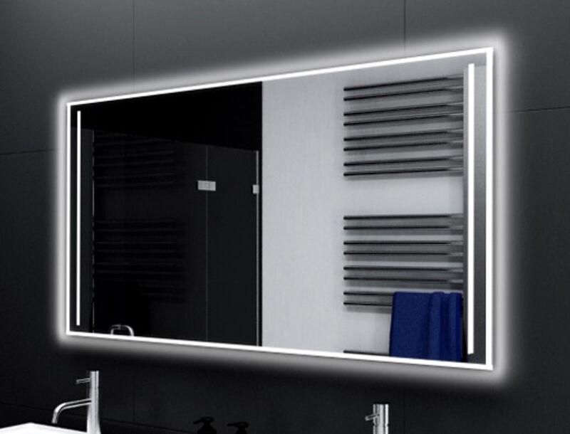 Badspiegel mit LED Beleuchtung Badezimmerspiegel Bad Spiegel Wandspiegel M177