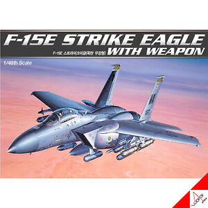 Academy-1-48-Scale-F-15E-Strike-Eagle-With-Weapon-Hobby-Plastic-model-kit-12264