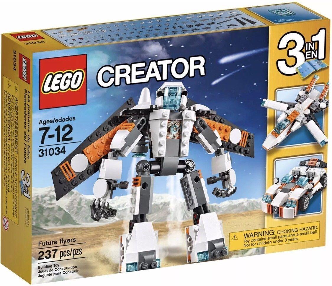 NEW Lego 31034 Creator Set Future Fliegeners