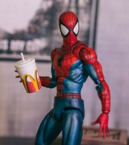 Mcdonalds-Cup-Diorama-PROP-ONLY-Mezco-Marvel-Legends-NECA-1-12