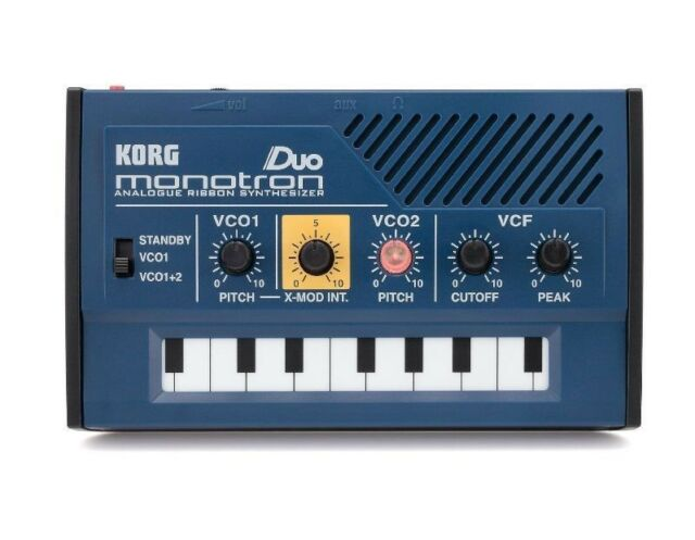 Korg Monotron Duo Analog Ribbon Synthesizer japan