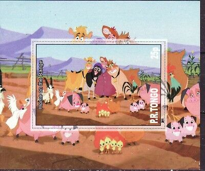 P.R. Tongo   2011  - imperforated  -   Walt Disney  (Home on the Range)