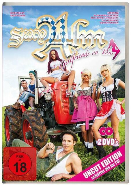 Sexy Alm - Girlfriends on Tour Staffel 4 - DVD - Erotik