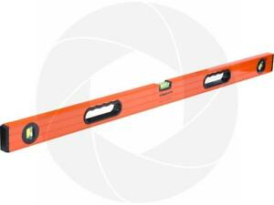 3.2ft 1m Horizontal Vertical Aluminum Level Rubber Handles Adjustable Angle Vial Les Commandes Sont Les Bienvenues.