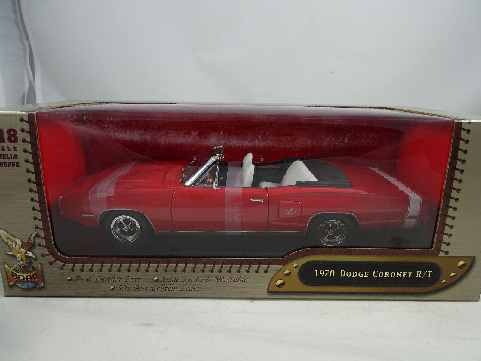 1 18 Road Signature Dodge Coronet R T converdeible rosso-rareza §
