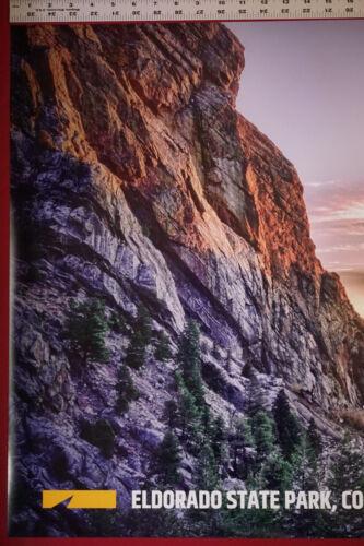 Eldorado State Park Colorado History Mountain  Picture Poster 24X36 NEW   ELDO