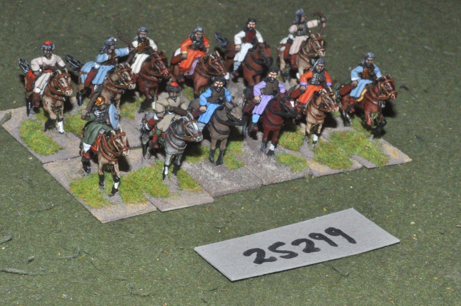 20mm medieval   saracen - heavy 12 figures - cav (25299)