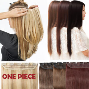 100G-Real-Remy-Clip-in-Human-Hair-Extensions-One-Piece-3-4-Full-Head-Invisible