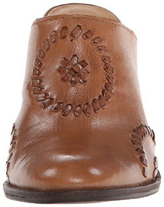 "JACK ROGERS Marley Tan Slide Leder Western Style Mule Slide Tan NIB Damens's 7 med 2 3/4"" 32de9c"