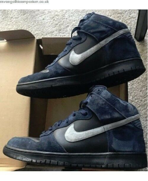 NIKE Dunk High Neu Dunkelblau Suede 317982-408 Gr:44 US:10 Force Vandal Jordan