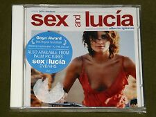 SEX AND LUCIA ALBERTO IGLESIAS OST CD *RARE* USA PRESS New