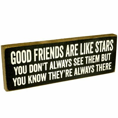 5x8 Sign Good Friends Are Like Stars Best BFF Forever Long Distance Pen Pal