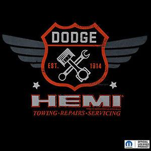 Dodge-Lizenz-T-Shirt-Charger-Challenger-Mopar-Ram-Hemi-Muscle-Car-auto-0014-bl