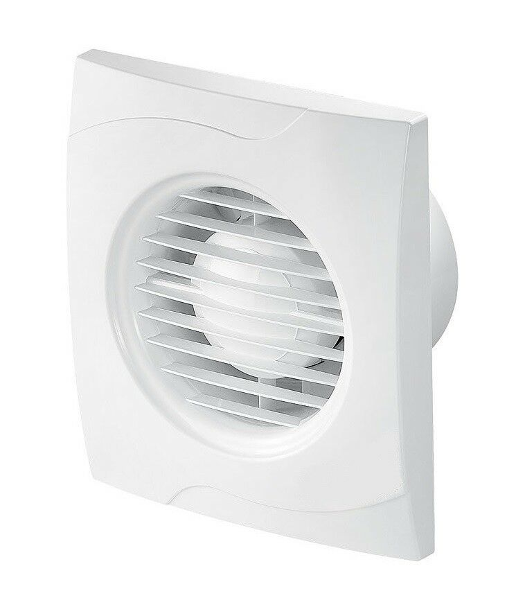 Bathroom Extractor Fan 100mm 4 With Pull Cord Modern Ventilator Kitchen Web100w For Sale Online Ebay
