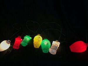 Vintage Style Blow Mold Lantern Awning String Lights ...